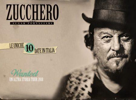 Zucchero Fornaciari: Nel 2018 torna con dieci date italiane
